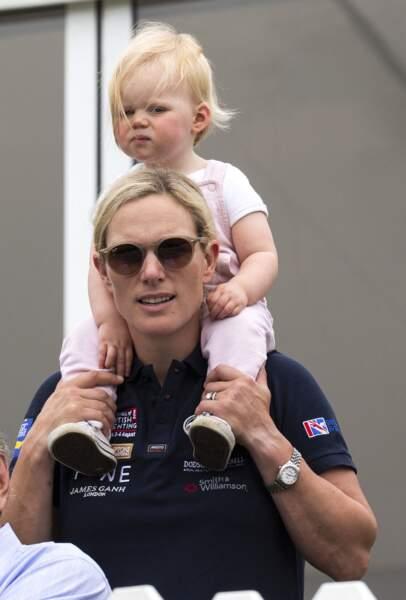 Zara Tindall et sa fille