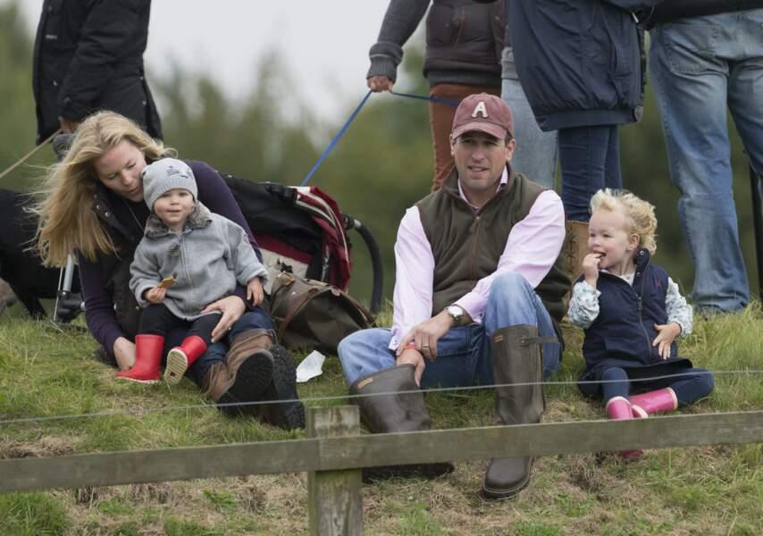 Peter Philipps et sa famille