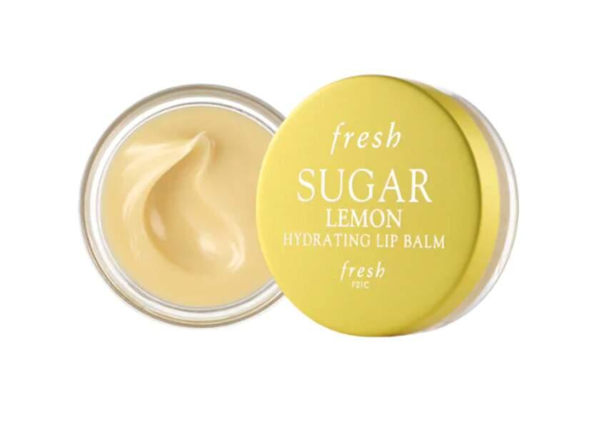 Baume À Lèvres Hydratant Au Sucre Lemon, Fresh, 19€, sephora.fr
