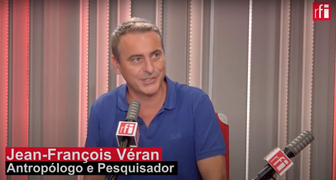 Jean-François, frère d'Olivier Véran, lors d'une interview sur RFI Brésil le  25 août 2020