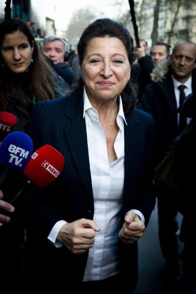 Agnès Buzyn à Paris le 17 février 2020