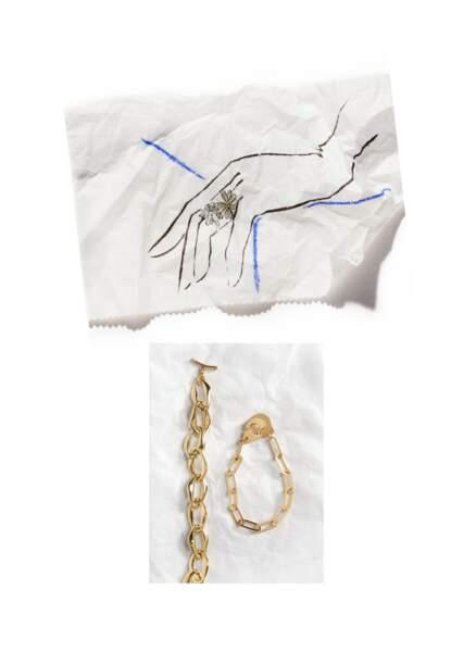 Les bijoux en or jaune