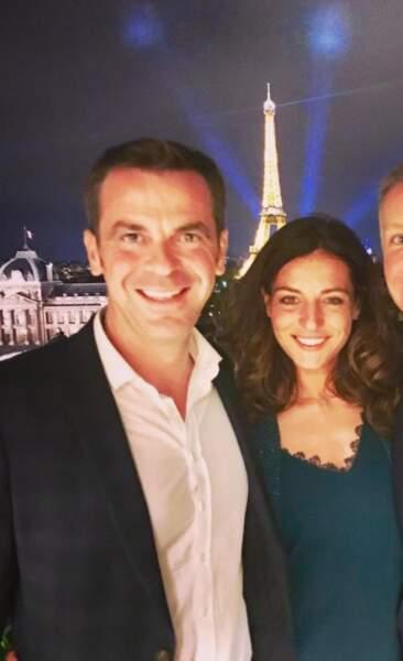 Photo d'Olivier Véran et sa compagne, Coralie Dubost, publiée sur Instagram le 24 septembre 2019