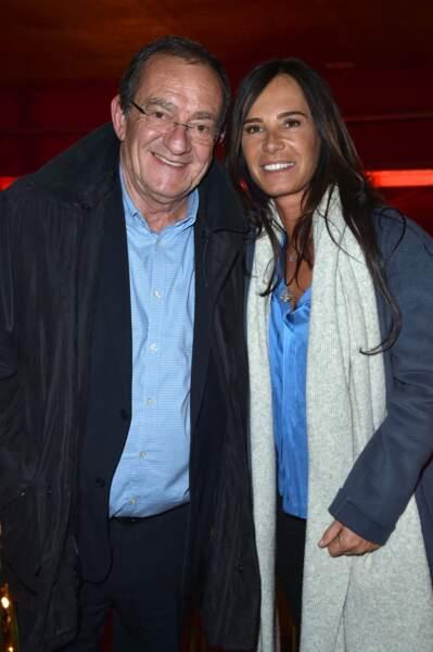 Jean-Pierre Pernaut et Nathalie Marquay-Pernaut au Casino de Paris le 15 avril 2019