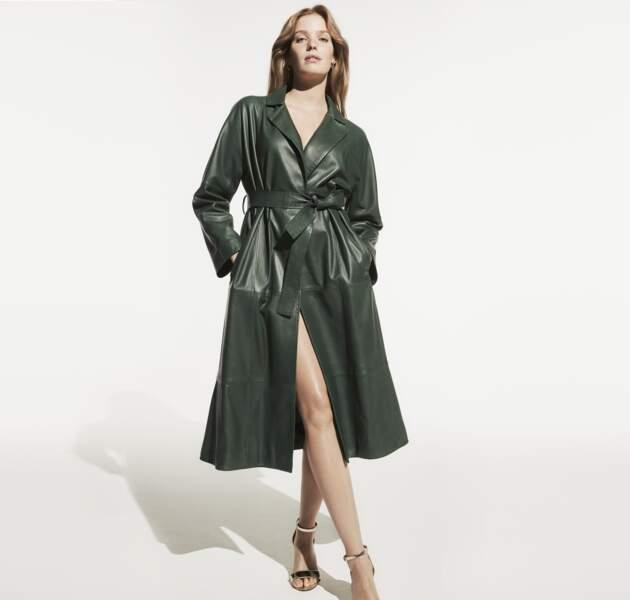 """Autre mini-capsule """"The Icons The Leather"""", dévoilée par Marina Rinaldi pour célébrer les quarante ans de la marque"""