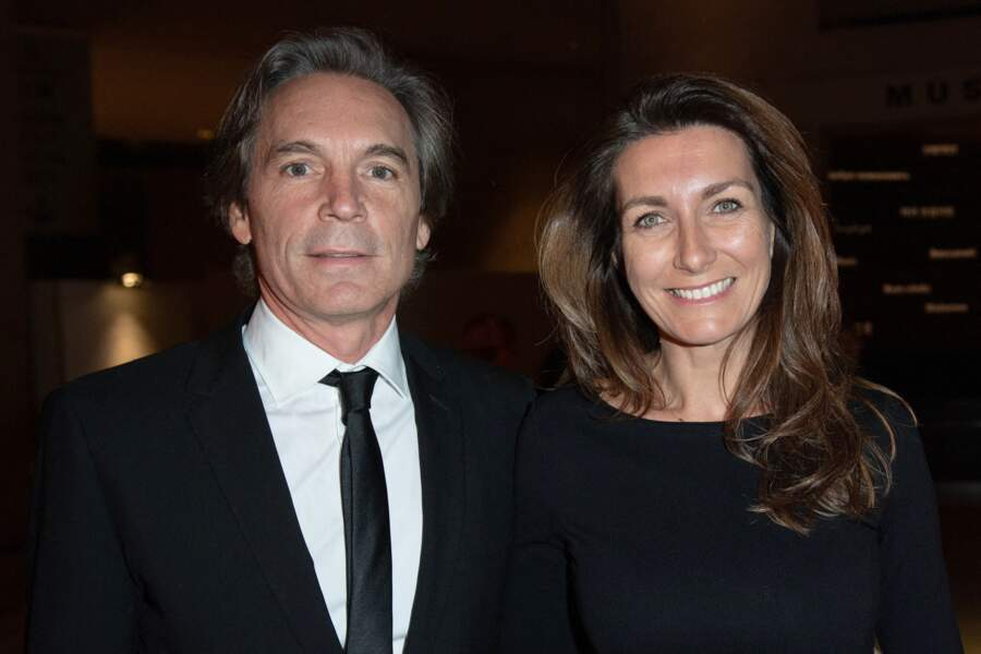 Anne-Claire Coudray et Nicolas Vix au musée du Louvre à Paris le 19 novembre 2019
