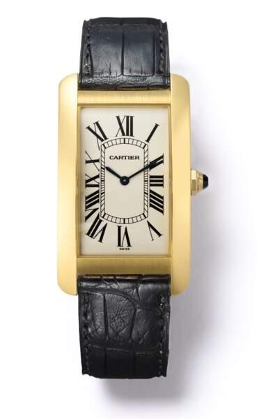 La montre Tank de Cartier