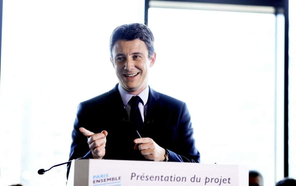 Benjamin Griveaux dévoile son programme pour les municipales, depuis le quartier des Batignolles, à Paris, le 13 février 2020.