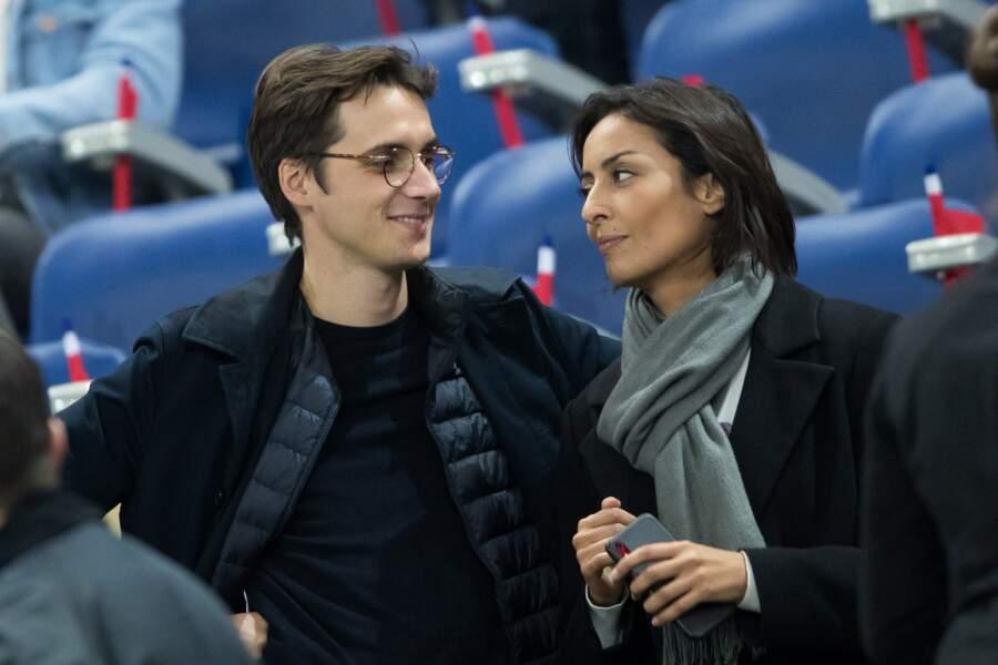 Leïla Kaddour et Pierre Guénard au Stade de France à Saint-Denis, le 14 octobre 2019
