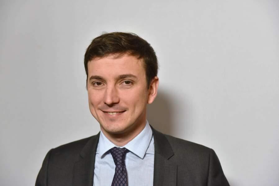 Portrait d'Aurélien Taché, député du Val d'Oise, datant du 9 mars 2018.