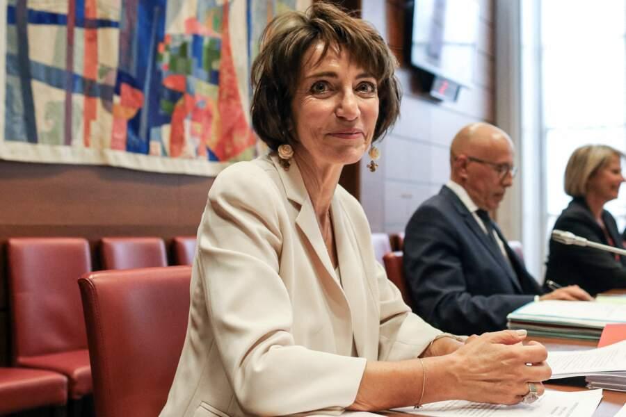 Marisol Touraine, lors de son audition par la mission d'information sur l'impact, la gestion et les conséquences dans toutes ses dimensions de l'épidémie de la Covid 19, à Paris, le 1er juillet 2020.
