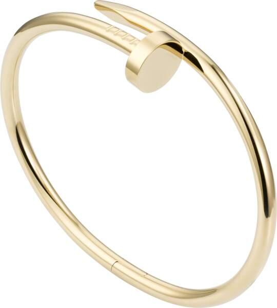 Le bracelet clou de Cartier