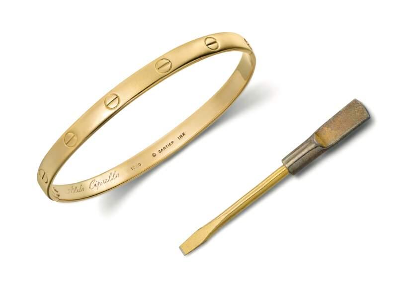 Le bracelet Love de Cartier