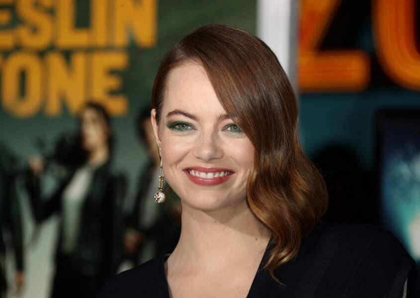 Emma Stone à la première du film Retour à Zombieland à Los Angeles le 10 octobre 2019.