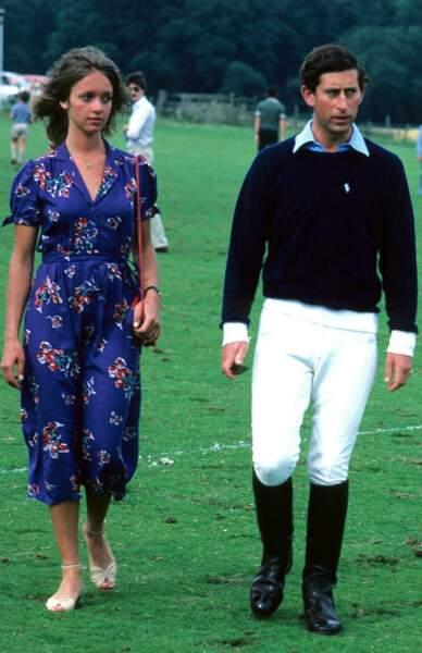 Sabrina Guinness et le prince Charles