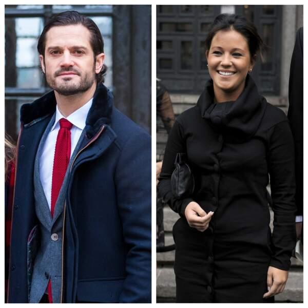 Carl-Philip de Suède et Emma Pernald
