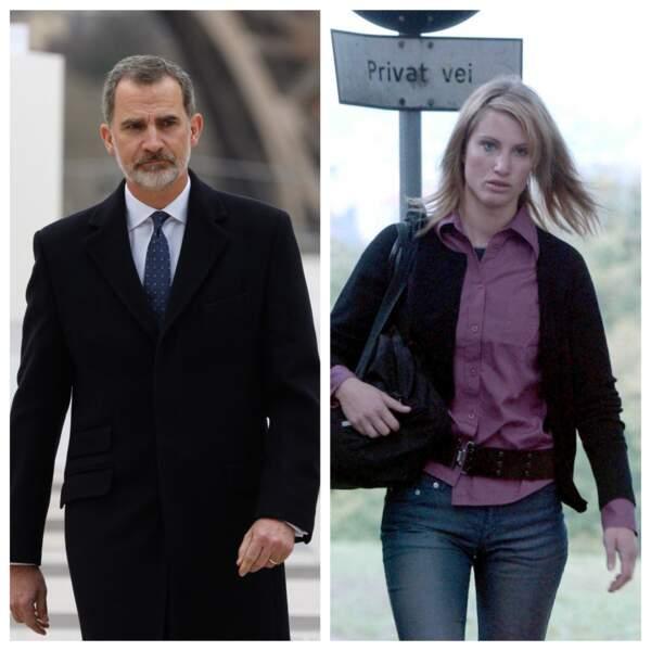 Felipe d'Espagne et Eva Sannum