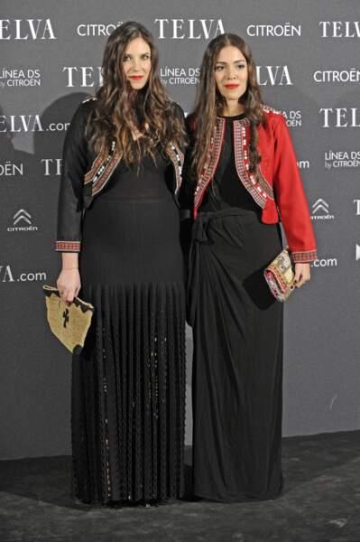 Tatiana Santo Domingo enceinte  de son premier enfant et sobre en robe longue noire, le 6 Novembre 2012.