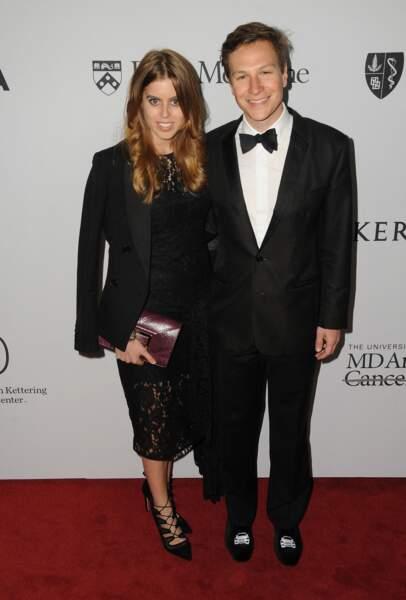 Beatrice d'York et Dave Clark