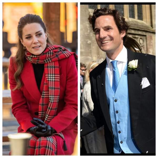 Kate Middleton et Rupert Finch