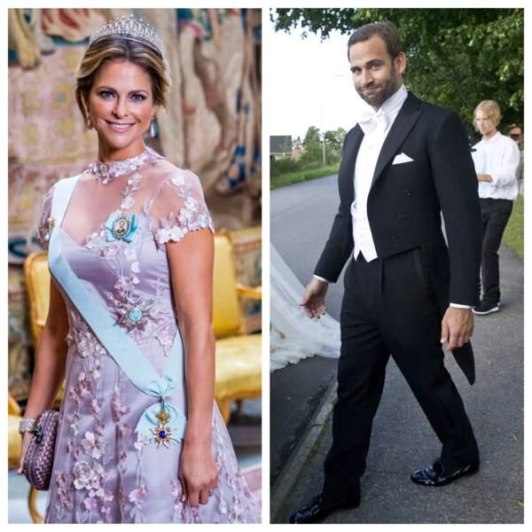 Madeleine de Suède et Jonas Bergstrom