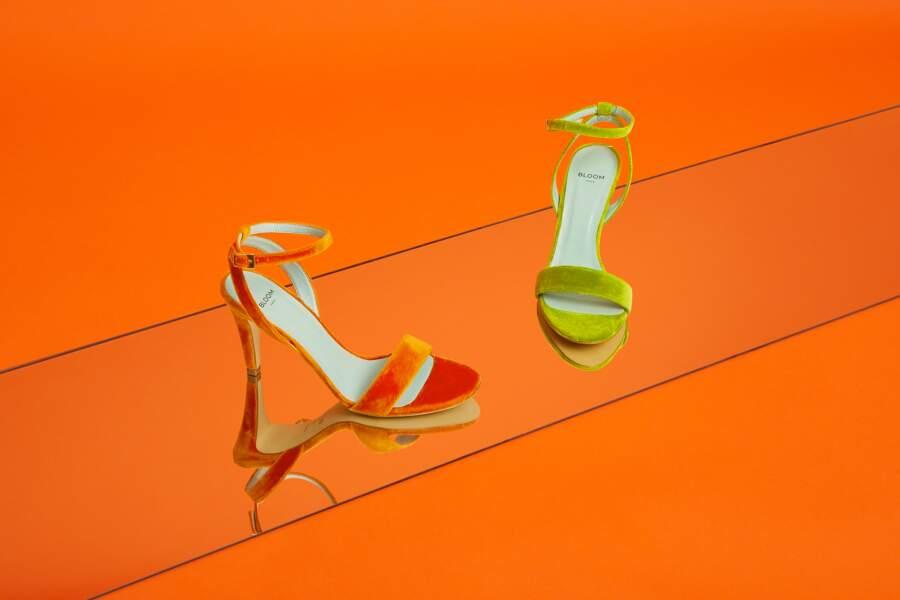 Collection chaussures printemps-été 2021 de Bloom Paris