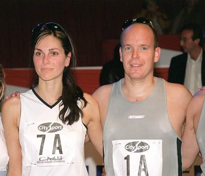 Tasha de Vasconcelos et Albert de Monaco