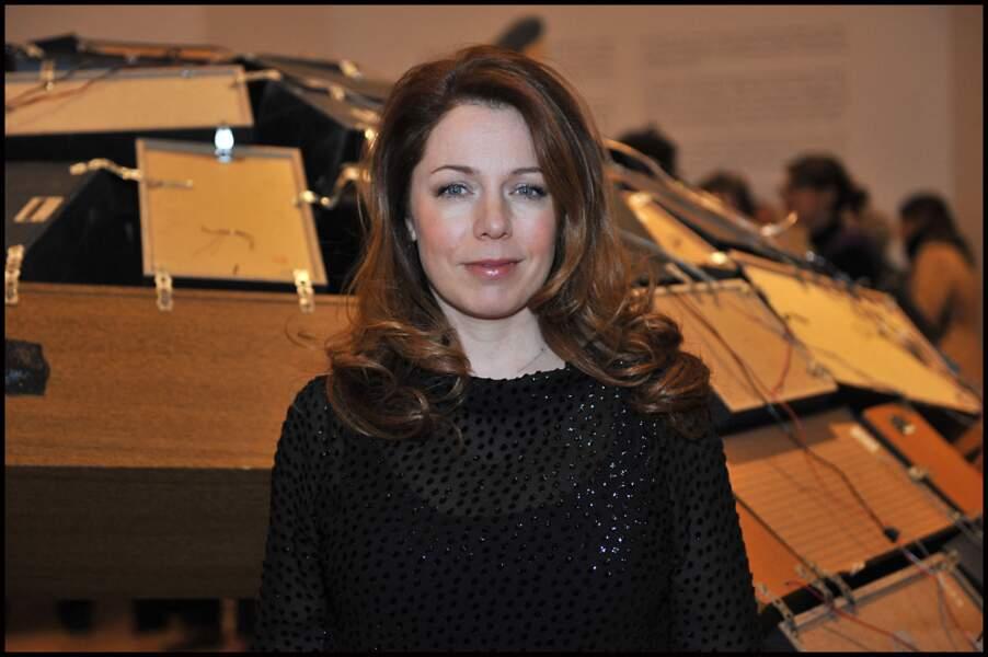 Isabelle Boulay assiste à l'inauguration des illuminations des vitrines du BHV, à Paris, le 16 novembre 2011.