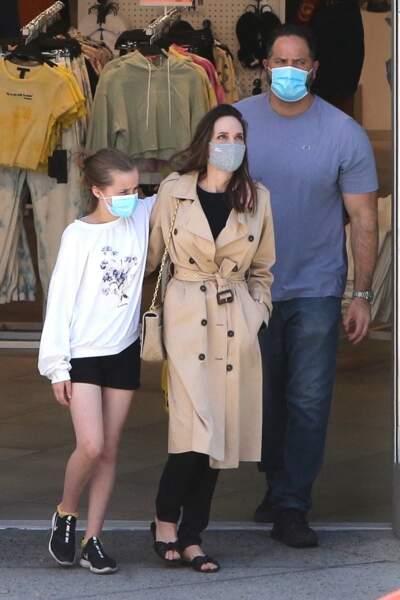Angelina Jolie complice avec sa fille Vivienne (12 ans) à Hollywood le 29 mars 2021