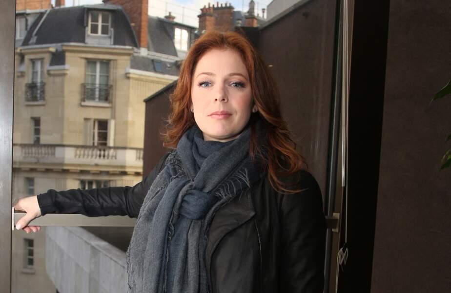 Isabelle Boulay lors de la soirée hommage à Étienne Roda-Gil, à l'occasion des dix ans de sa disparition à la Sacem, à Neuilly-sur-Seine, le 26 mai 2014.