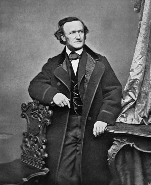 Richard Wagner, son compositeur fétiche