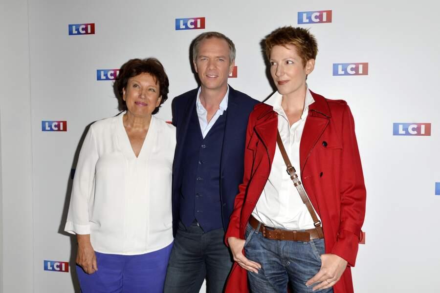 Julien Arnaud et Natacha Polony, ses partenaires de débats