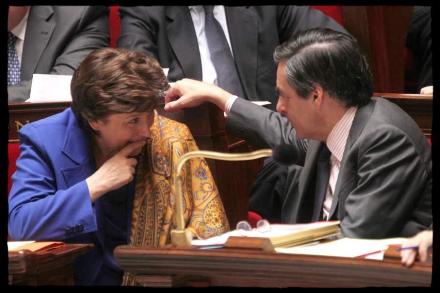 François Fillon, son ami en politique