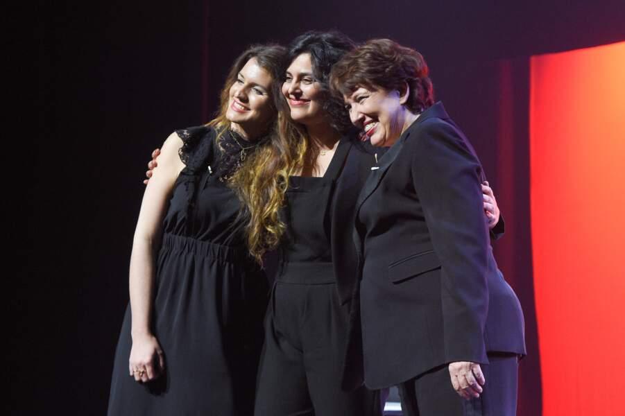 Marlène Schiappa et Myriam El Khomri, ses partenaires de scène