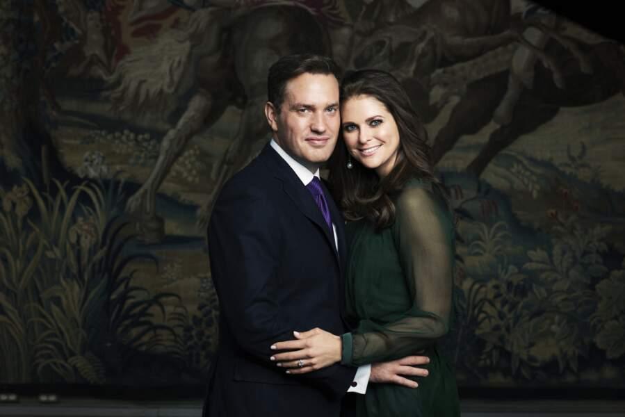 La Princesse Madeleine de Suède et Christopher o'Neill