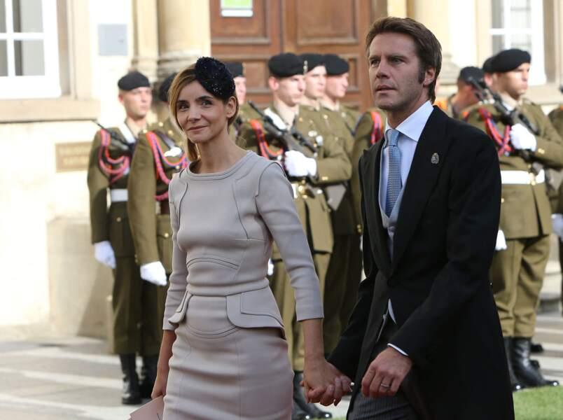 Clotilde Courau et le prince de Savoie le 20 octobre 2012