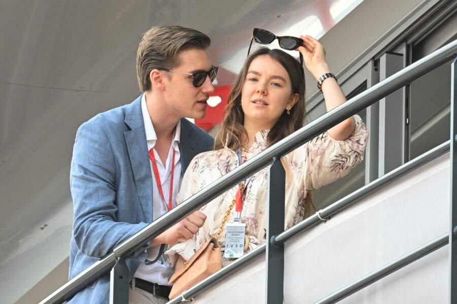 Alexandra de Hanovre et Ben-Sylvester Strautmann, le 25 mai 2019 à Monaco