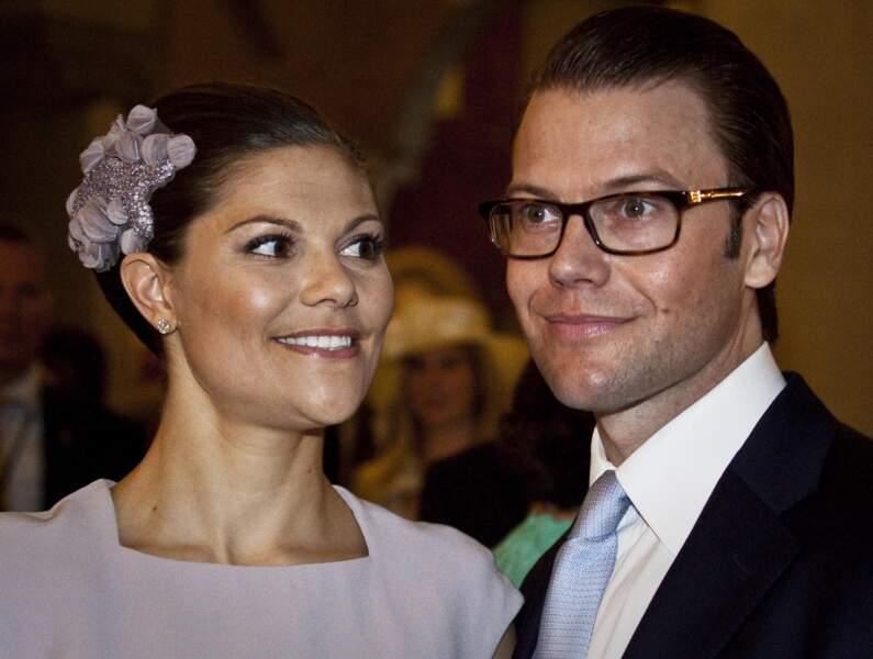 Réception au City Hall pour célébrer le mariage de la princesse Victoria de Suède et Daniel Westling
