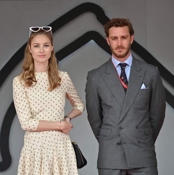 Pierre Casiraghi et sa femme Beatrice Borromeo le 26 Mai 2019 à Monaco