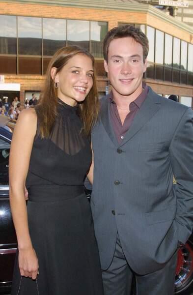 Katie Holmes et Chris Klein en août 2001 à Los Angeles