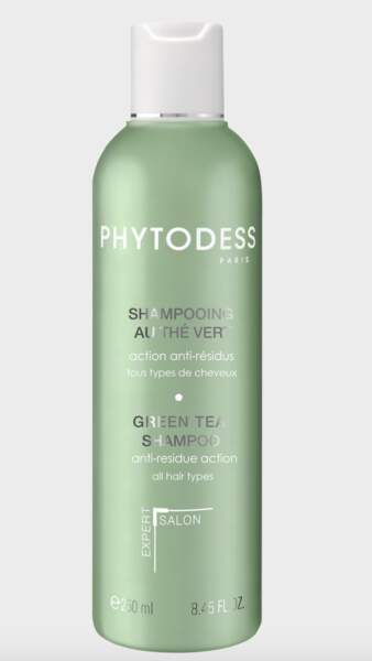 Shampooing au thé vert, Phytodess, 24,50 € (dessange.com)