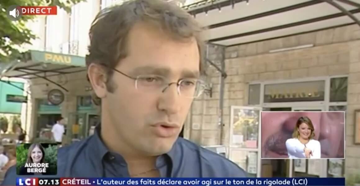 Christophe Castaner durant ses jeunes années.