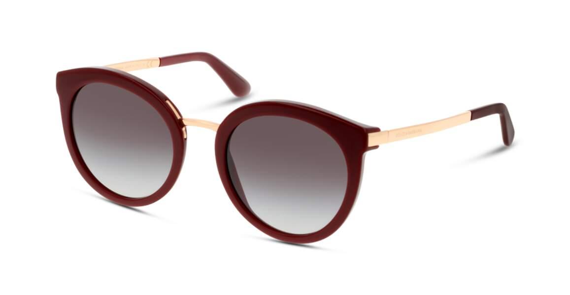 Lunettes de soleil, 179€, Dolce & Gabbana sur Grand Optical
