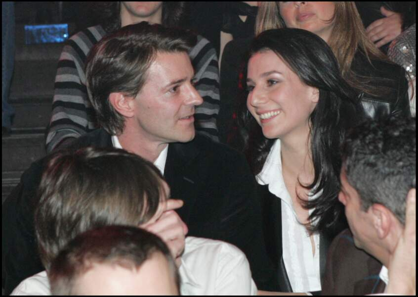 Marie Drucker et François Baroin, en mars 2007 aux Victoires de la Musique
