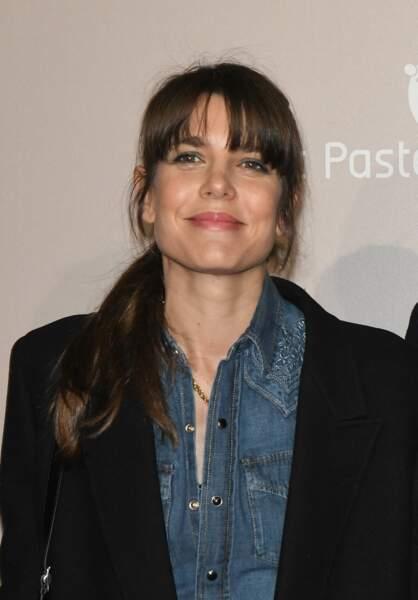 """Charlotte Casiraghi, lors de l'avant-première du film """"Le Meilleur reste à venir"""", le 2 décembre 2019, au Grand rex à Paris."""
