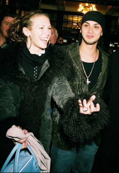 Lorie et Billy Crawford en novembre 2003