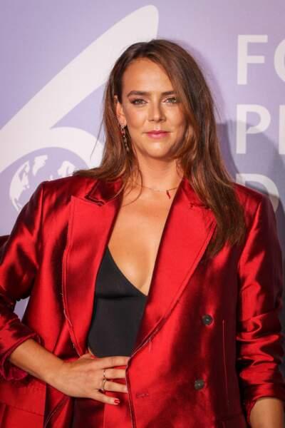 "Pauline Ducruet, lors du photocall du gala ""Monte-Carlo Gala for Planetary Health"" organisé par la Fondation Prince Albert II de Monaco, le 24 septembre 2020."