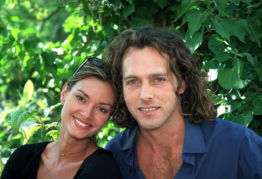 Ingrid Chauvin et Laurent Hennequin à Saint-Tropez en septembre 2001