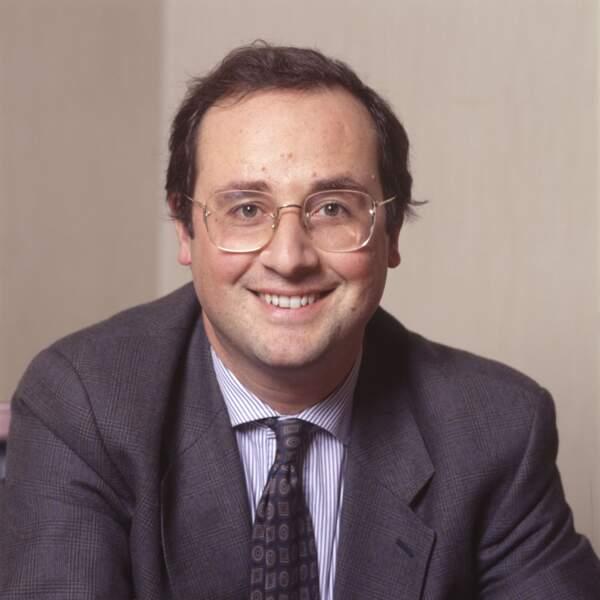 François Hollande à 37 ans.
