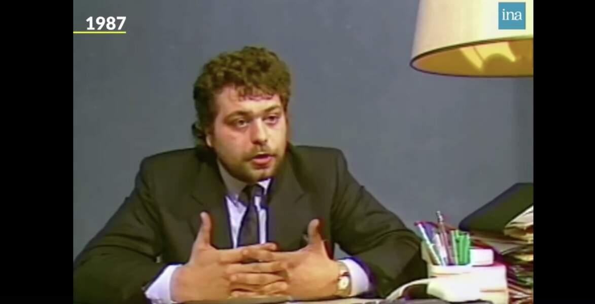 Éric Dupond-Moretti à 25 ans.
